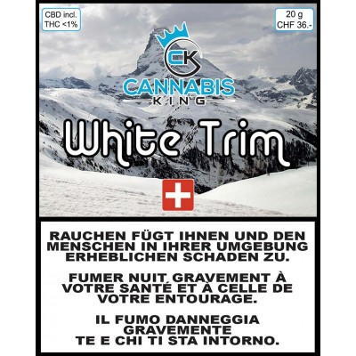 White Trim - Cannabis King - Cannabis CBD Suisse