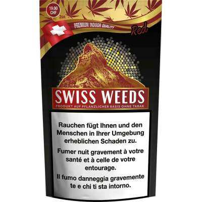 Swiss Weeds Red - Pure production - CBD hanf
