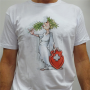 "White Unisex ""Elvezia"" T-Shirt By Ivanart - Why Not"
